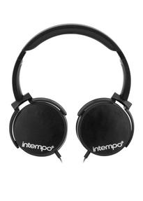 Intempo EE1264 Dynamic Black Over-ear Headphones Thumbnail 2