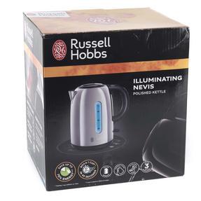 Russell Hobbs 20442 Nevis 1.7 Litre Stainless Steel Kettle Thumbnail 5
