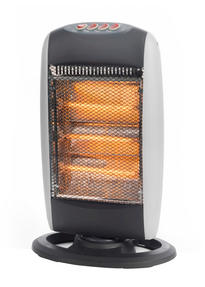 Prolectrix EH0197 1200W Halogen Heater with 3 Heat Settings