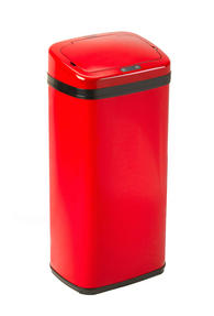 Russell Hobbs BW04513 Square 50L Sensor Bin Red Thumbnail 1