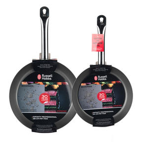 Russell Hobbs Infinity Set of 2 Frying Pans, 24/28cm Thumbnail 4