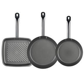 Russell Hobbs Infinity Set of 2 24/28cm Frying Pans with Griddle Pan Thumbnail 2