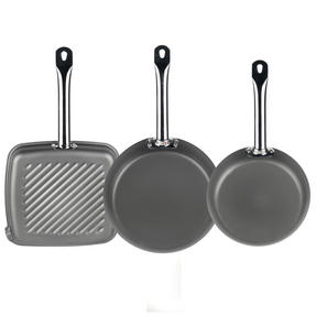 Russell Hobbs Infinity Set of 2 24/28cm Frying Pans with Griddle Pan Thumbnail 3