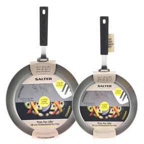 Salter Pan for Life Set of 2 Frying Pans, 24/28cm Thumbnail 4