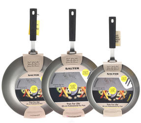 Salter Pan for Life 24/28cm Frying Pans and 28cm Wok Set Thumbnail 4