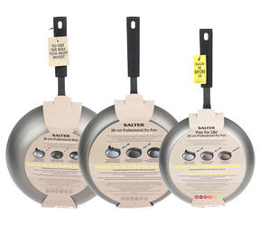 Salter Pan for Life 24/28cm Frying Pans and 28cm Wok Set Thumbnail 5