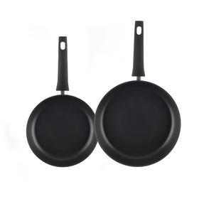 Salter Copper Effect Set of 2 Frying Pans, 24/28cm Thumbnail 2