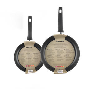 Salter Copper Effect Set of 2 Frying Pans, 24/28cm Thumbnail 4