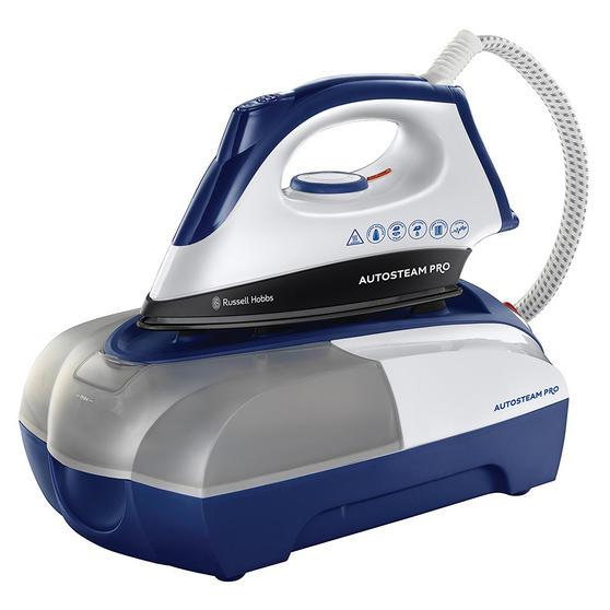 Russell Hobbs 22190 Autosteam Pro Iron, 2400 W, White and Blue [Energy Class A]