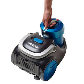 Hoover SP71BL04001 Blaze Bagless Cylinder Vacuum Cleaner, 1.7 litre, 700 W - Black and Blue [Energy Class A] Thumbnail 3