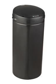 Russell Hobbs BW04180 40 Litre Round Hands Free Motion Sensor Dustbin/Kitchen Bin, Black Thumbnail 1