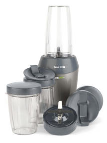 Salter Nutri Pro Super Charged Multi-Purpose Nutrient Extractor Blender, 1 Litre, 1200 W, Silver [Energy Class a]