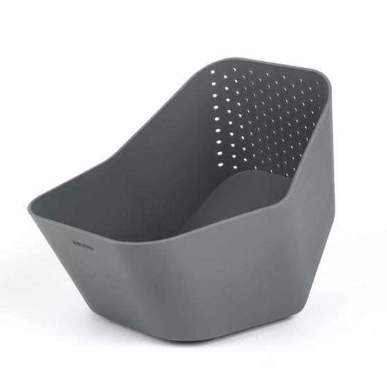 Salter BW05613 2 In 1 Colander, Grey