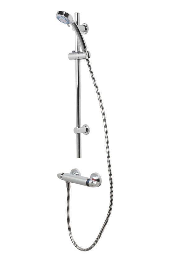Beldray LA037015 3 Function Replacement Shower Set, Chrome