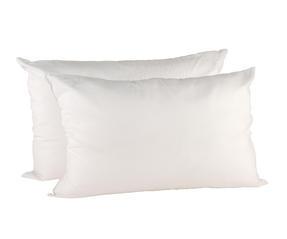 Beldray MFBEL07297 Deep Fill Pillows, Twin Pack, White Thumbnail 2
