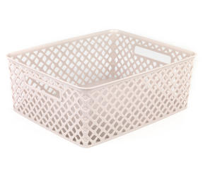 Beldray LA038432 Medium Grey Deco Basket