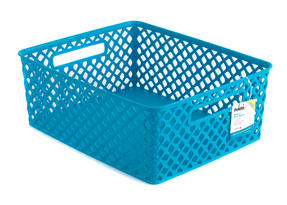 Beldray LA038432 Medium Turquoise Deco Basket