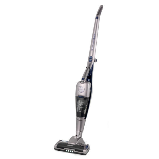 Salter SAL0003 Rechargable Cordless Boost Vac Vacuum Cleaner, 22.2 V, Silver