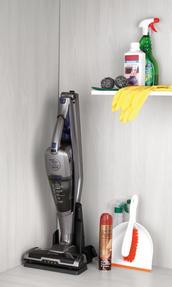 Salter SAL0003 Rechargable Cordless Boost Vac Vacuum Cleaner, 22.2 V, Silver Thumbnail 5