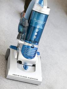 Hoover Hurricane HU71HU05 Upright Vacuum Cleaner, 700 W, Silver [Energy Class A] Thumbnail 2