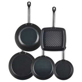 Russell Hobbs Infinity 5 Piece Pan Set, Black Thumbnail 2