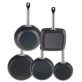 Russell Hobbs Infinity 5 Piece Pan Set, Black Thumbnail 3