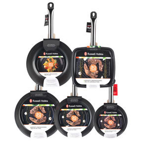 Russell Hobbs Infinity 5 Piece Pan Set, Black Thumbnail 4