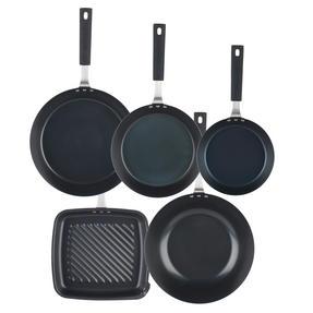 Salter Pan For Life 5 Piece Pan Set, Black Thumbnail 2