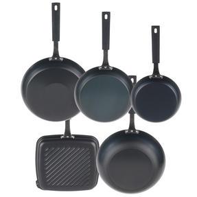Salter Pan For Life 5 Piece Pan Set, Black Thumbnail 3