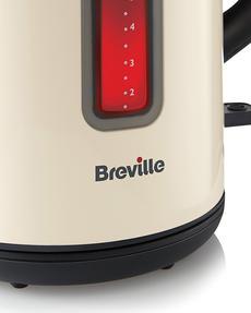 Breville VKJ890 Colour Collection Kettle, 1.7 Litre, Cream Thumbnail 2