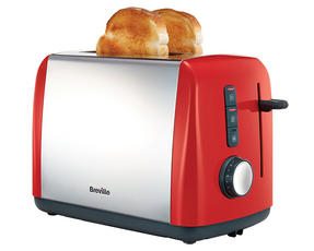 Breville VTT757 Colour Collection 2 Slice Toaster, Red Thumbnail 2