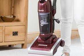 Hoover AL71SZ04001 Spritz Pets Bagless Upright Vacuum Cleaner, 89DB Noise Level, 1.9 Litre, 700W, Burgandy/Silver Thumbnail 2