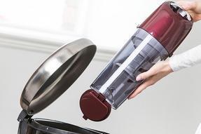 Hoover AL71SZ04001 Spritz Pets Bagless Upright Vacuum Cleaner, 89DB Noise Level, 1.9 Litre, 700W, Burgandy/Silver Thumbnail 3