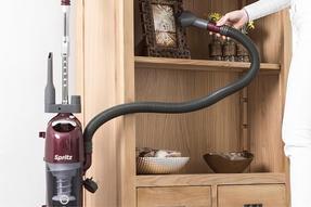 Hoover AL71SZ04001 Spritz Pets Bagless Upright Vacuum Cleaner, 89DB Noise Level, 1.9 Litre, 700W, Burgandy/Silver Thumbnail 4