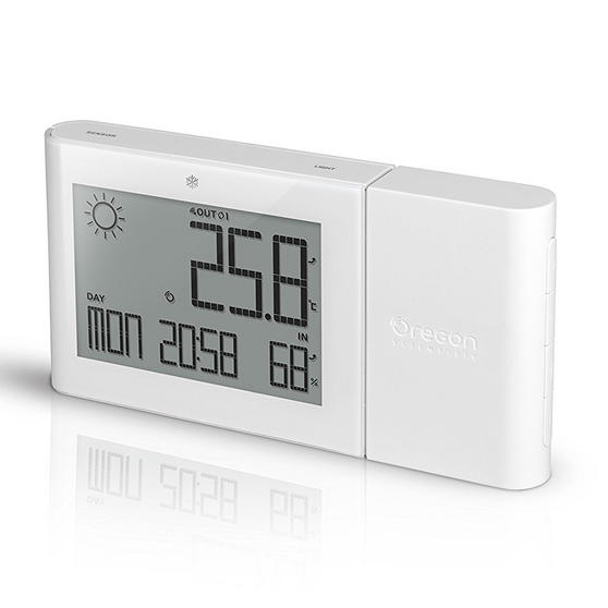 Oregon Scientific BAR266BOXW  Alizé Weather Station, Standard Version, White