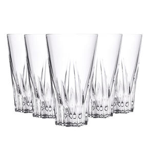 RCR 25716020006 Crystal Fluente Hiball Tumbler Glasses, 400ml, 13.5cm, Set of 6