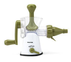 Salter BW03814GR Green And White Manual Plastic Juicer Thumbnail 1