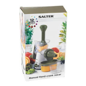 Salter BW03814GR Green And White Manual Plastic Juicer Thumbnail 6