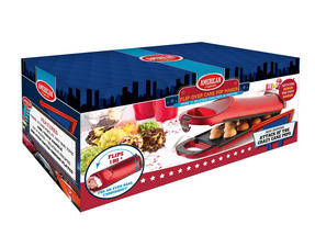 American Originals EK2069 180° Flip Over Cake Pop Maker, Red Thumbnail 5