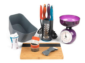 Student Box Prep, University Student 12-Piece Kitchen Set