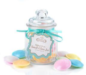 Giles & Posner QCJ186750 Small Ribbed Glass Candy Jar Thumbnail 6
