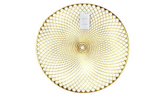Inspire AN286390 Lattice Placemat, PVC, Gold