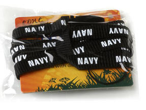 Navy NL1 Printed Lanyard with Detachable Side Release Clip, Navy Thumbnail 2