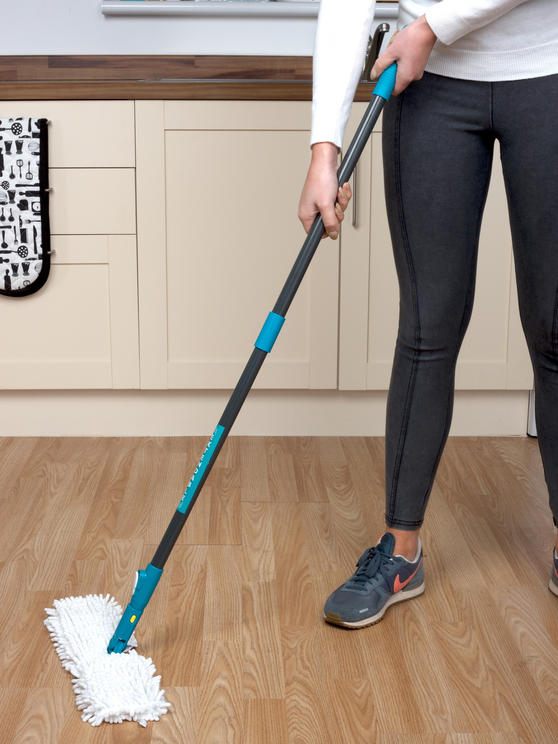 Beldray Double Sided Bending Mop and Extendable Microfibre Duster Set Thumbnail 6