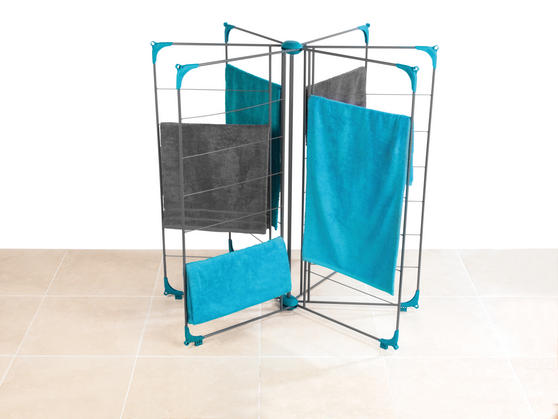 Beldray Deluxe Airer, 18m, Steel, Turquoise Thumbnail 2