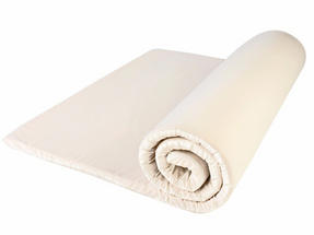 Dreamtime MFDT11317 Memory Foam Mattress Topper, Heat and Pressure Sensitive, Single