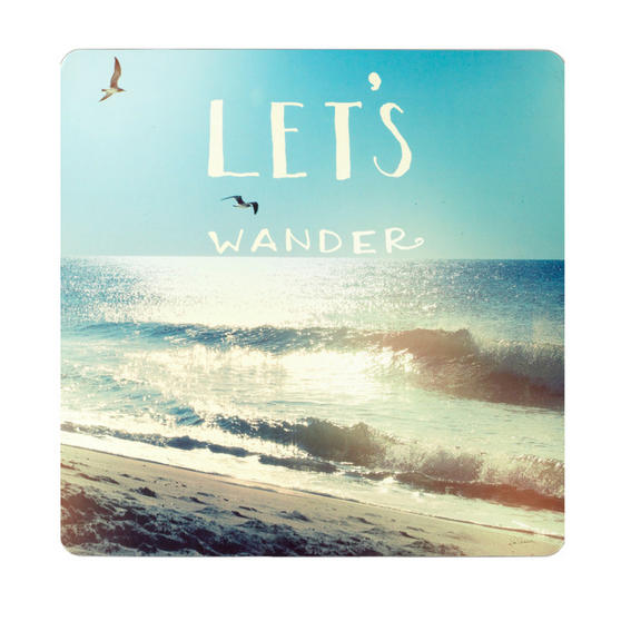 Inspire BCH281753 Luxury Coastline Placemats, 29 x 29cm, Hardboard, Multicolour, Set of 4