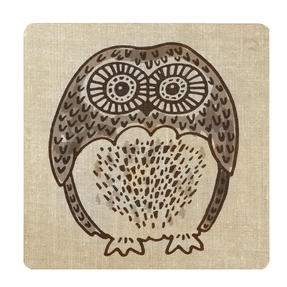 Inspire BCH281838 Luxury Forest Friend Placemats, 29 x 29cm, Hardboard, Natural, Set of 4 Thumbnail 4