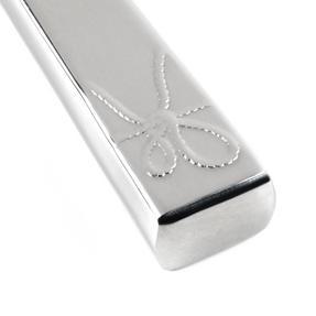 Vera Wang Love Knots Stainless Steel Starter Cutlery Set, Fork, Knife, Soup Spoon Thumbnail 7