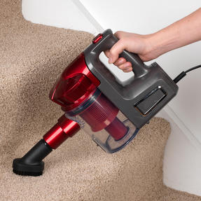 Prolectrix EF0247WK 2 in 1 Swift Vac Handheld Vacuum Cleaner, 500 W, Red Thumbnail 3